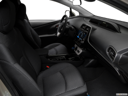 Display Interior view of the Toyota Prius Prime