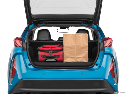 Display Trunk view of the Toyota Prius Prime