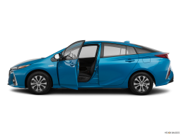 Display Side view of the Toyota Prius Prime
