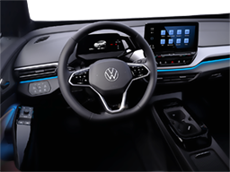 Display Interior view of the Volkswagen ID.4