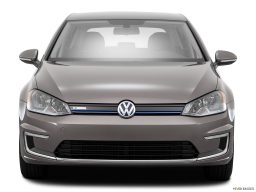 Display Front view of the Volkswagen e-Golf
