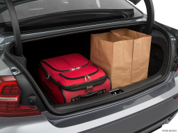 Display Trunk view of the Volvo S60 PHEV