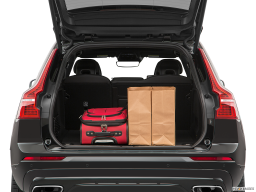 Display Trunk view of the Volvo XC60 PHEV