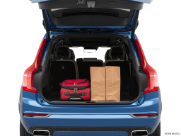 Display Trunk view of the Volvo XC90 PHEV