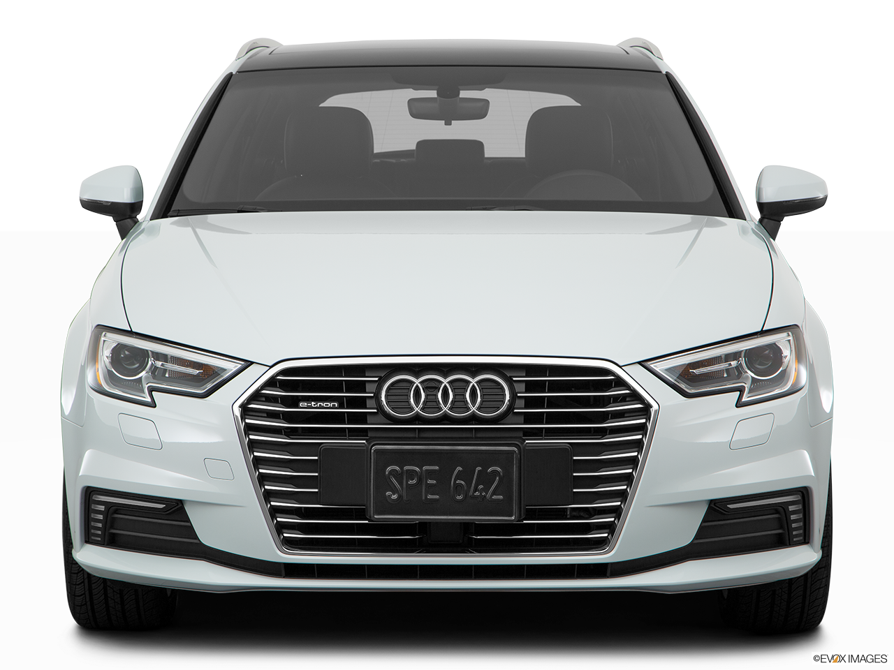 Front view of the Audi A3 e-tron