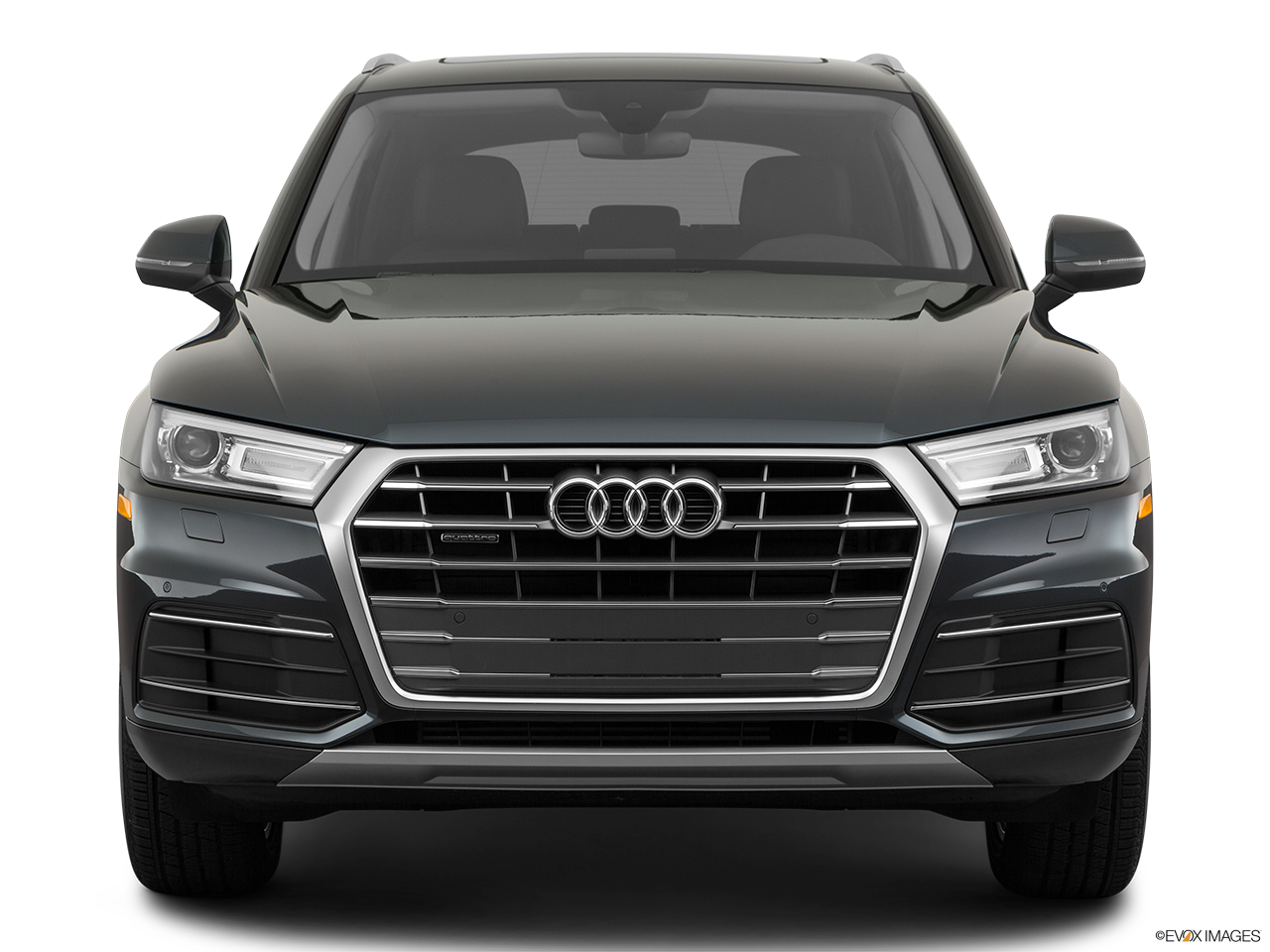 Front view of the Audi Q5 PHEV