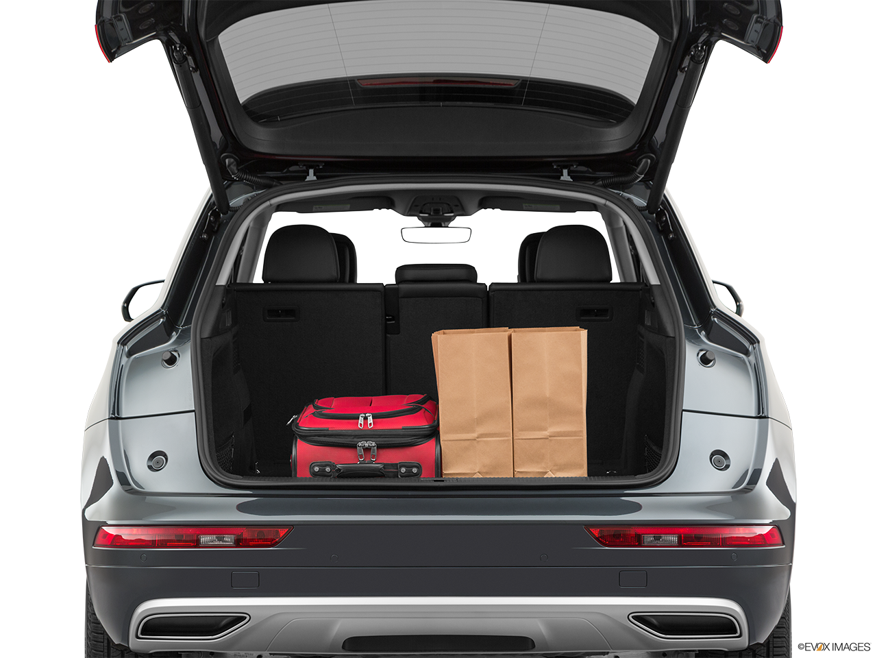 Trunk view of the Audi Q5 PHEV