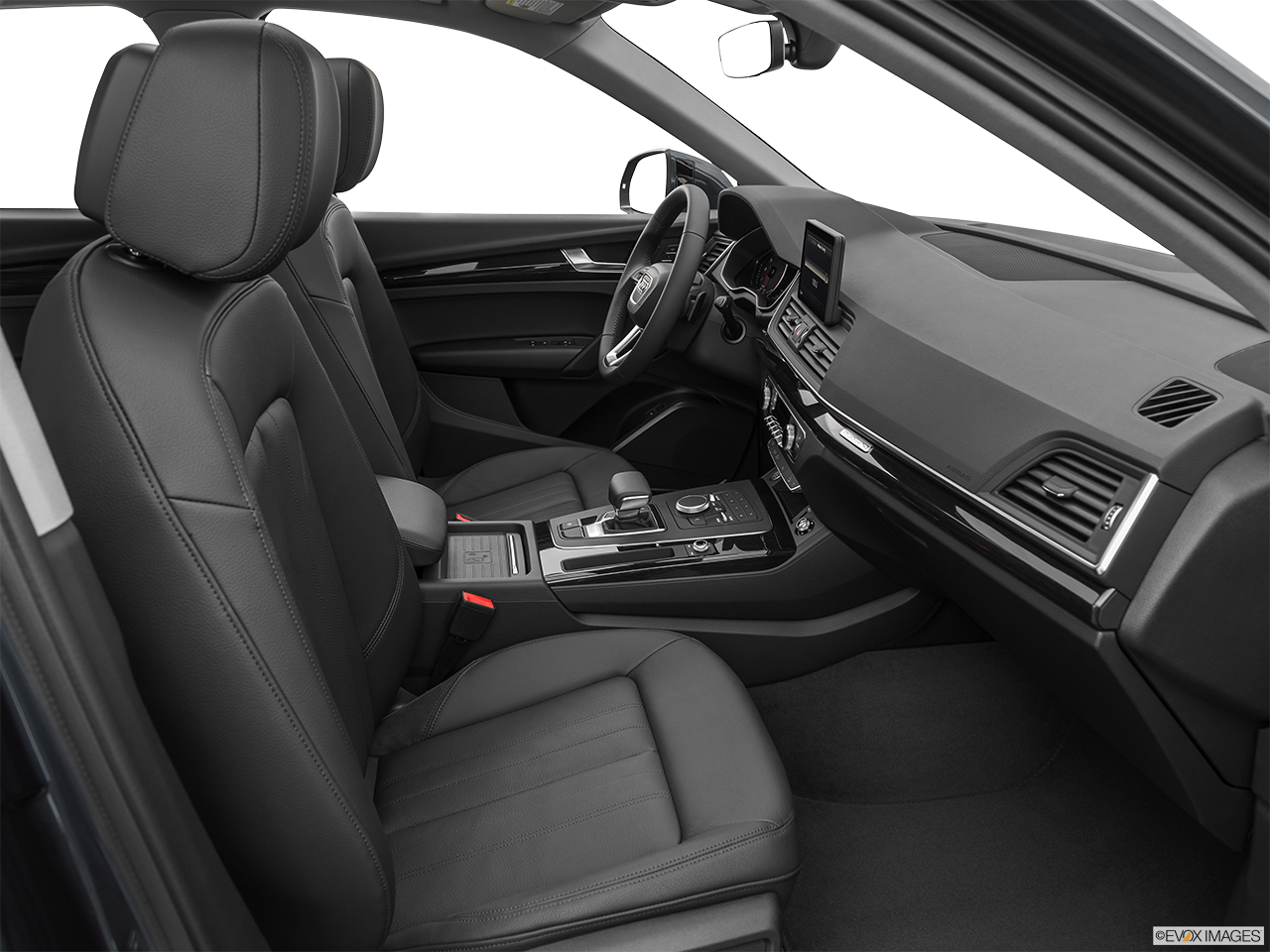 Interior view of the Audi Q5 PHEV