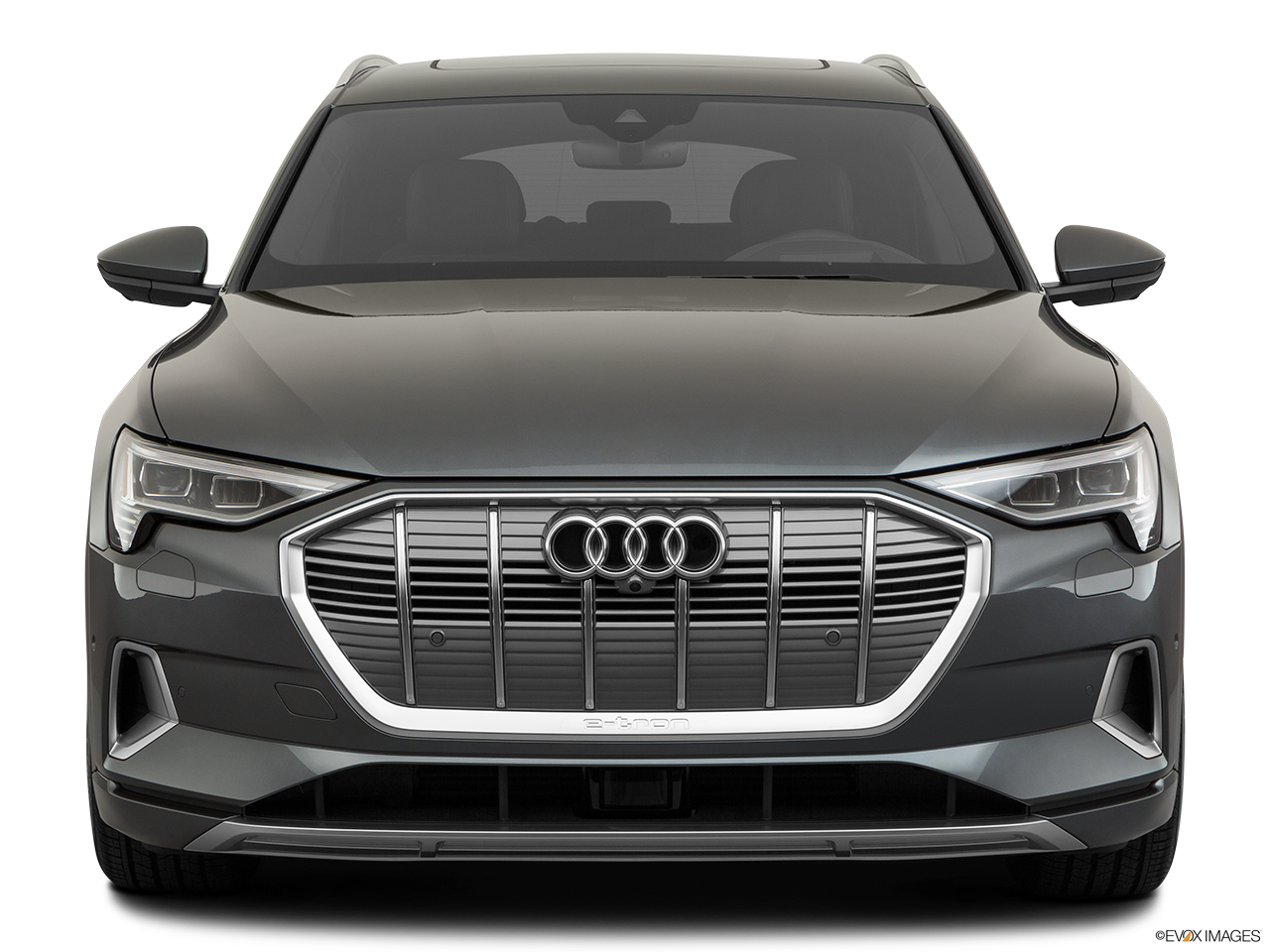 Front view of the Audi e-tron