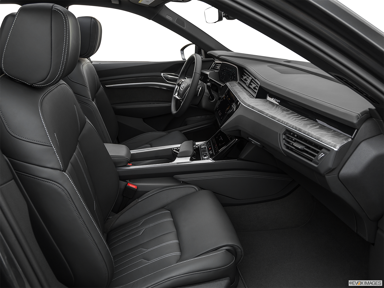 Interior view of the Audi e-tron