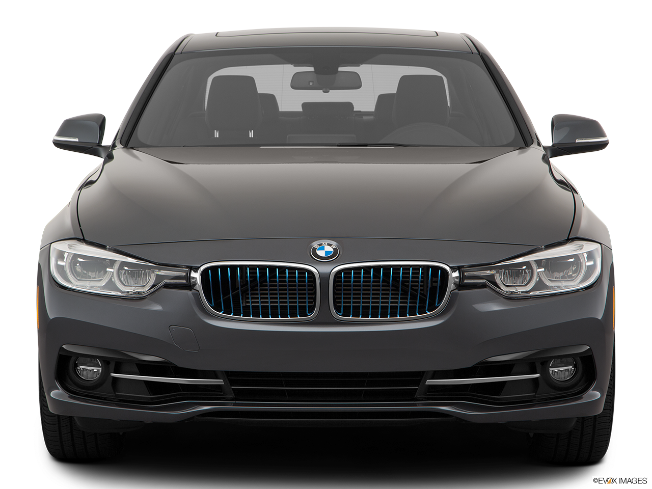 Front view of the BMW 330e