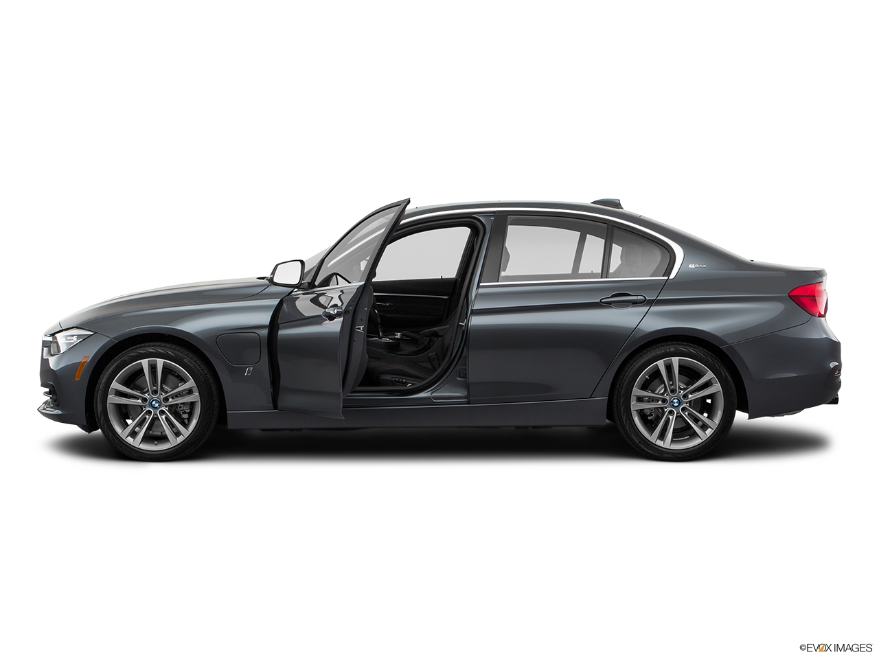 Side view of the BMW 330e