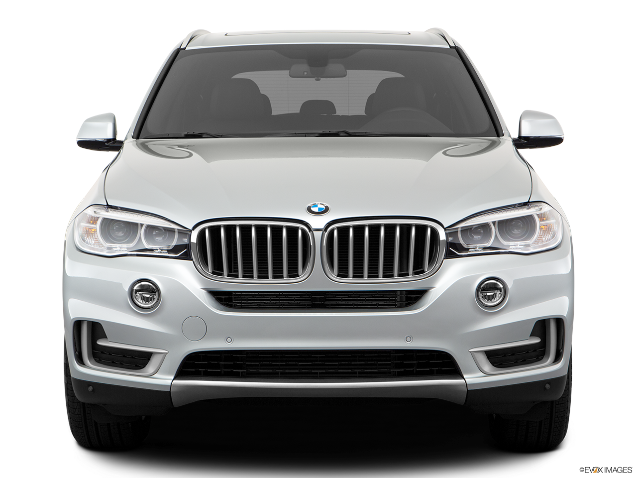 Front view of the BMW X5