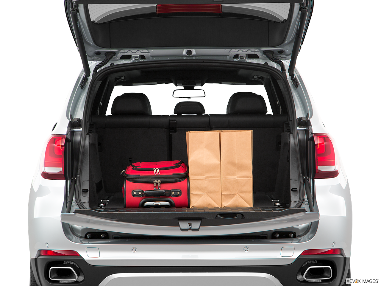 Trunk view of the BMW X5