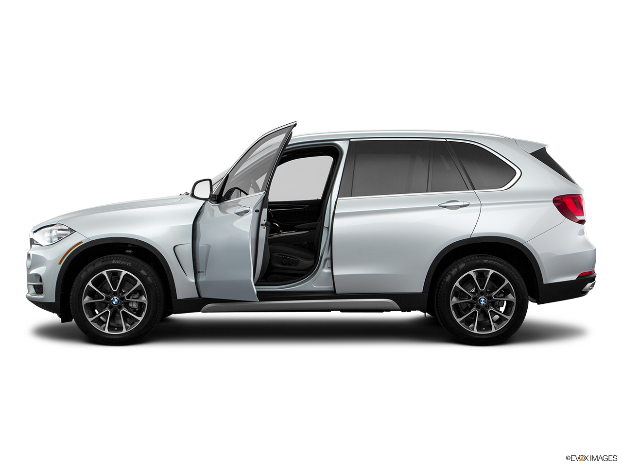 Side view of the BMW X5