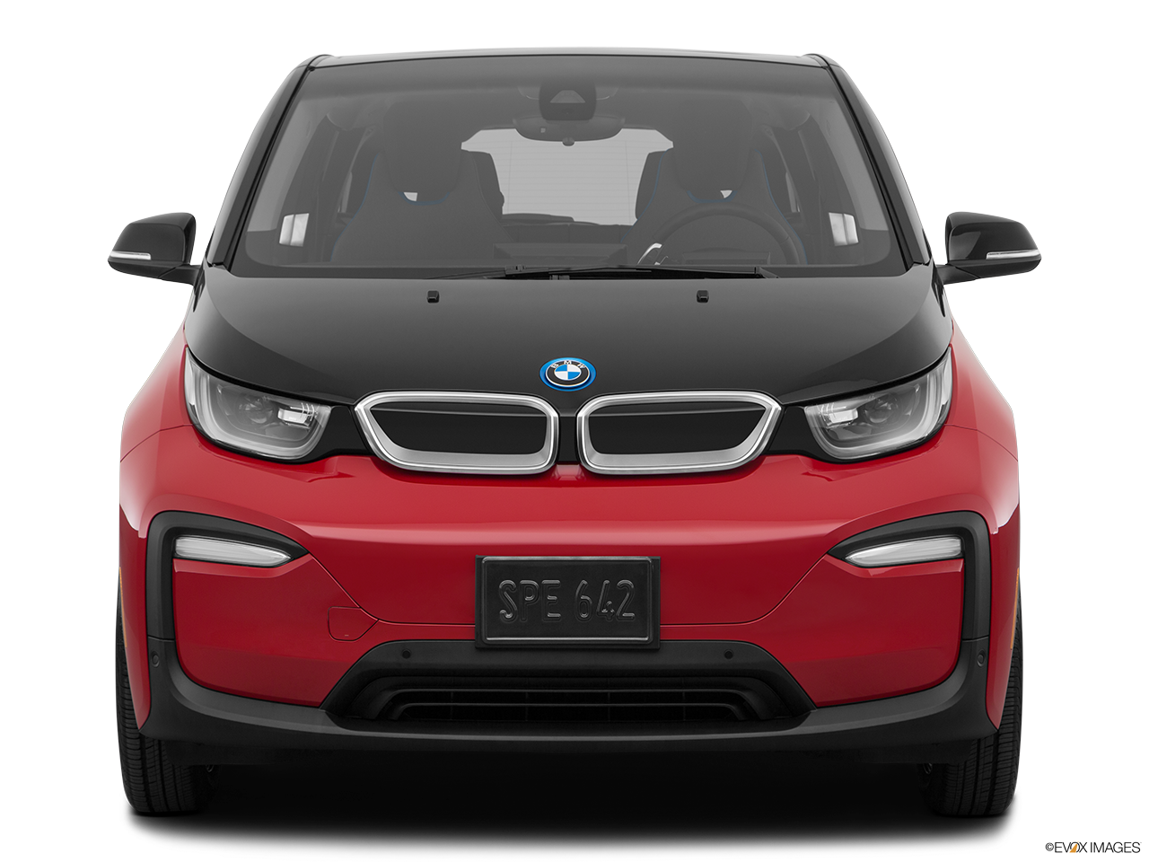 Front view of the BMW i3