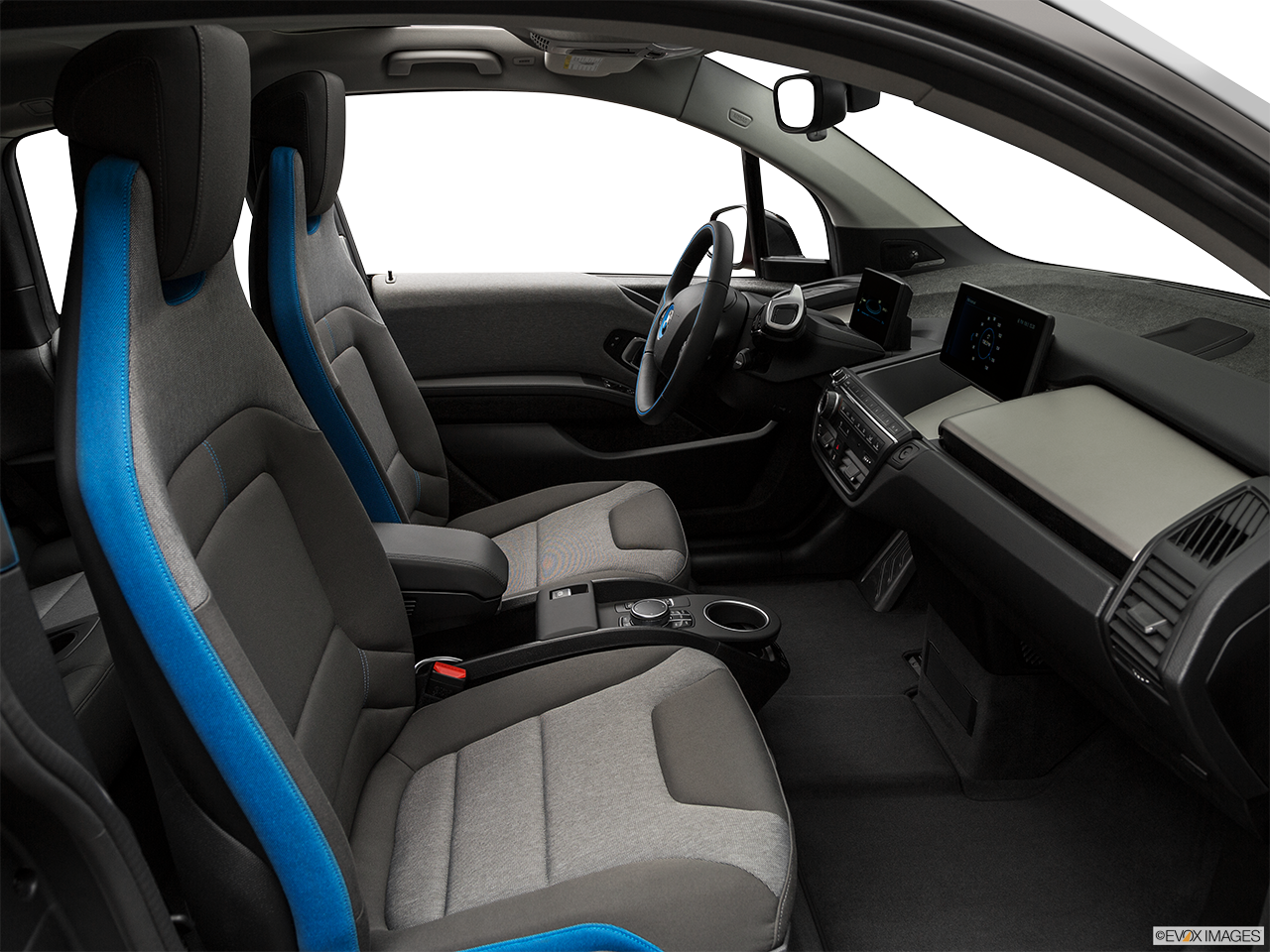 Interior view of the BMW i3