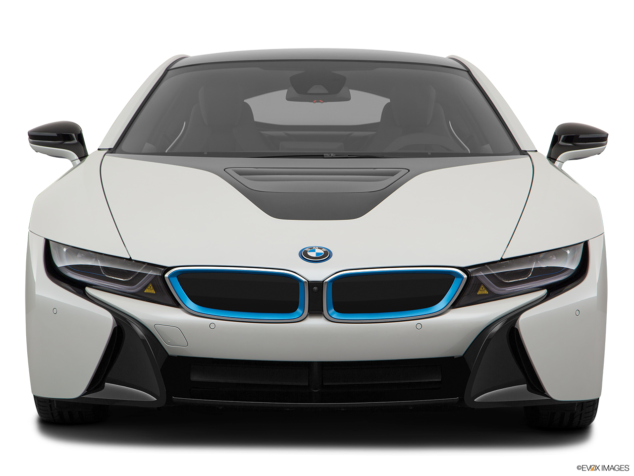 Front view of the BMW i8