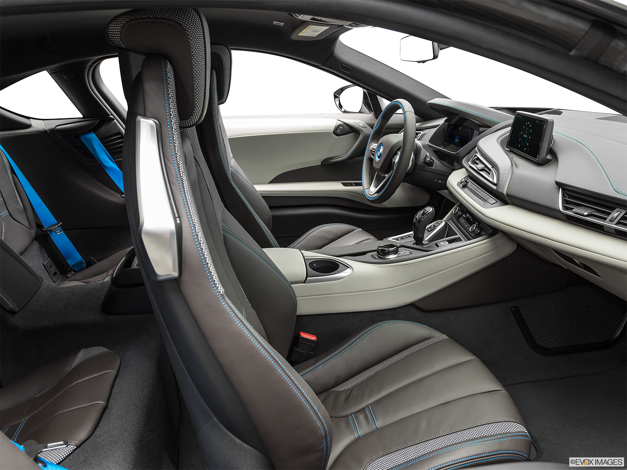Interior view of the BMW i8