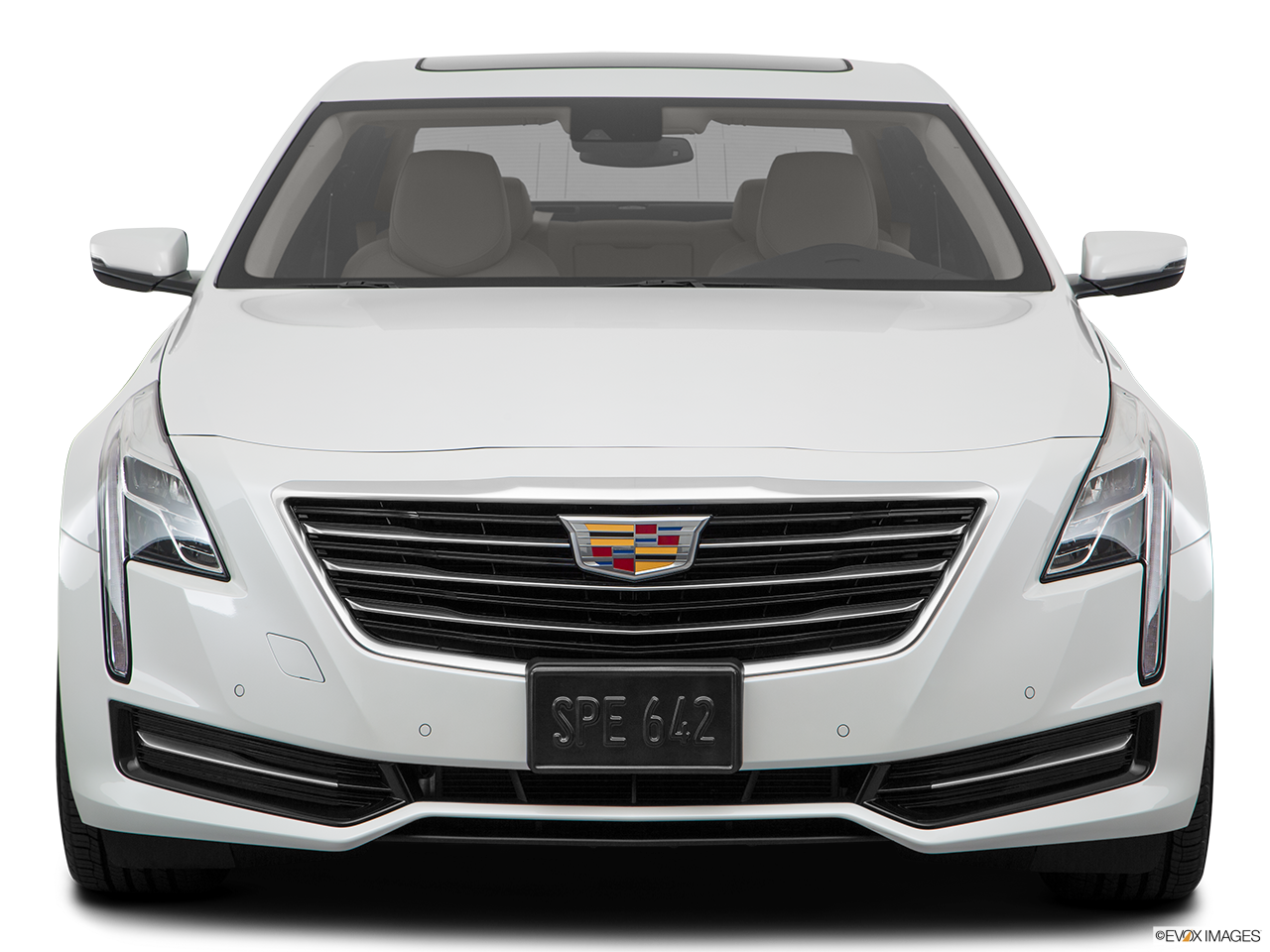 Front view of the Cadillac CT6