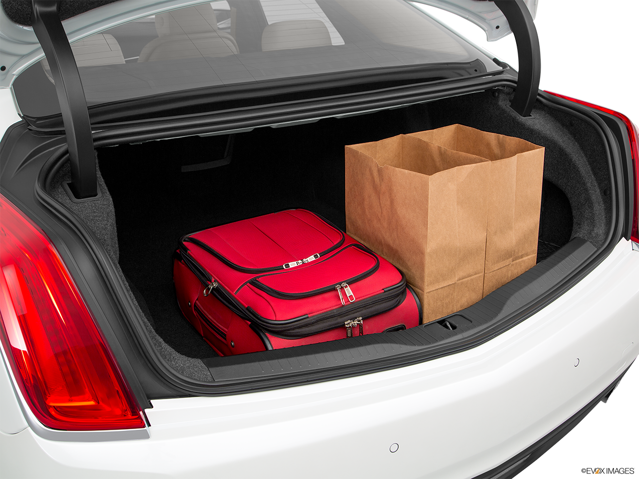 Trunk view of the Cadillac CT6