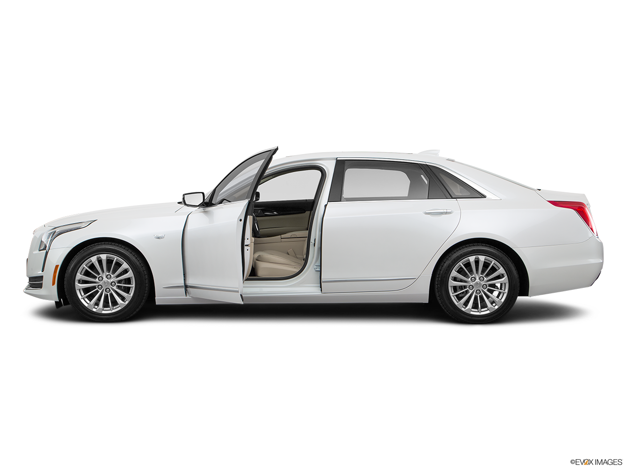 Side view of the Cadillac CT6