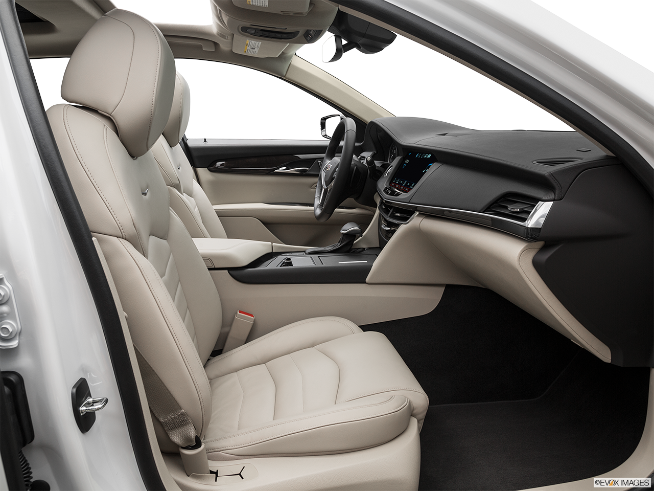 Interior view of the Cadillac CT6