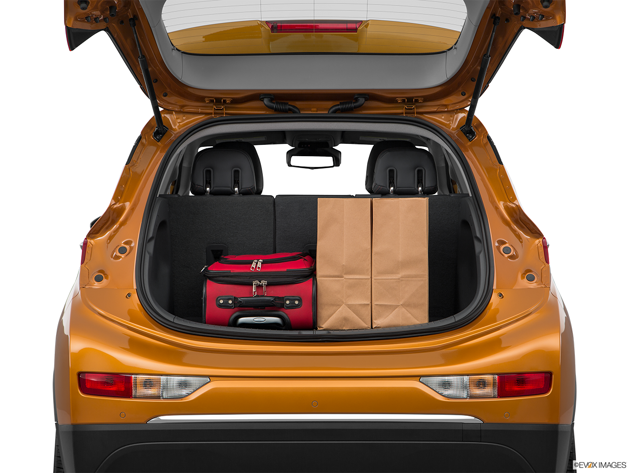 Trunk view of the Chevrolet Bolt