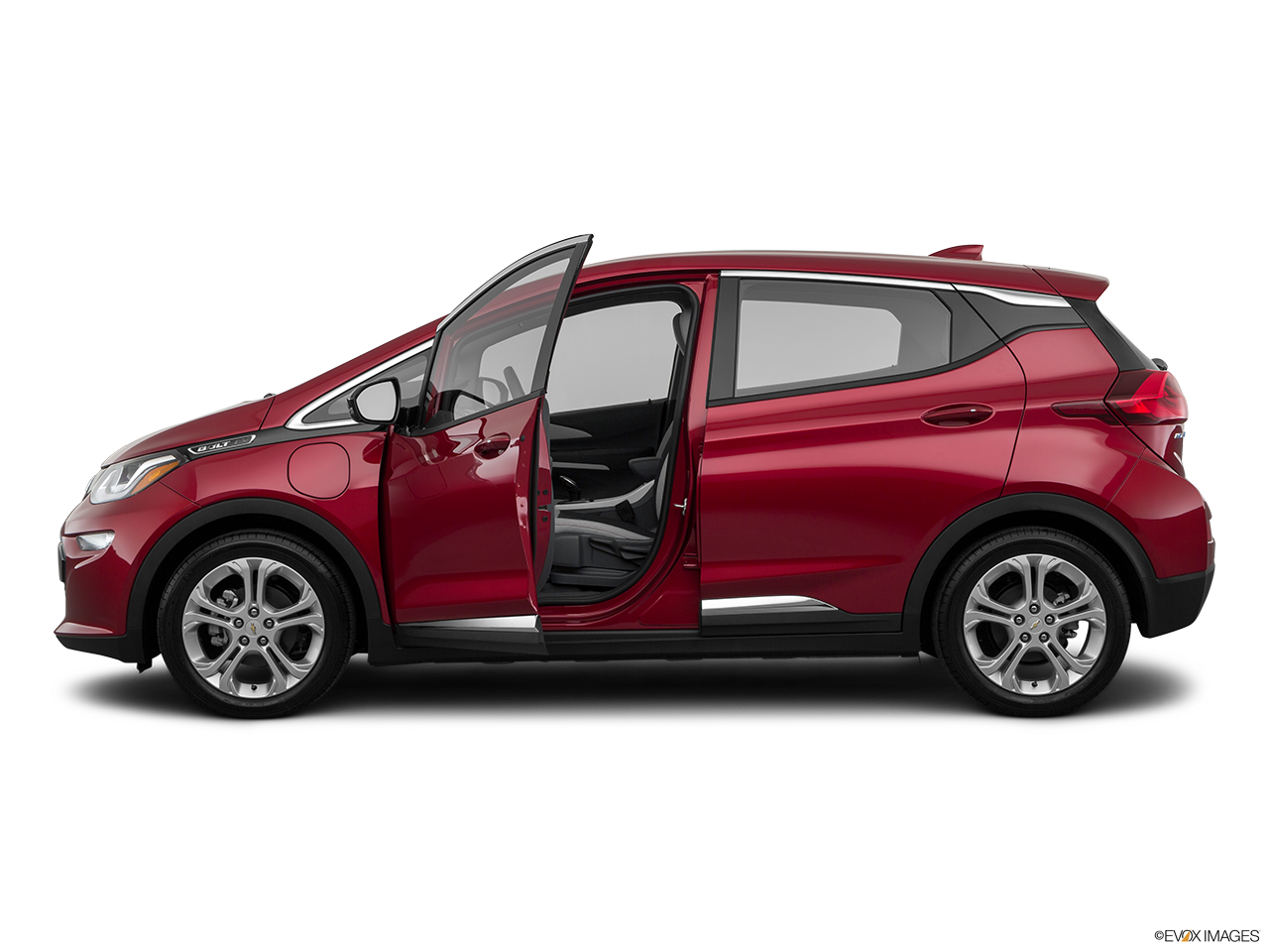 Side view of the Chevrolet Bolt