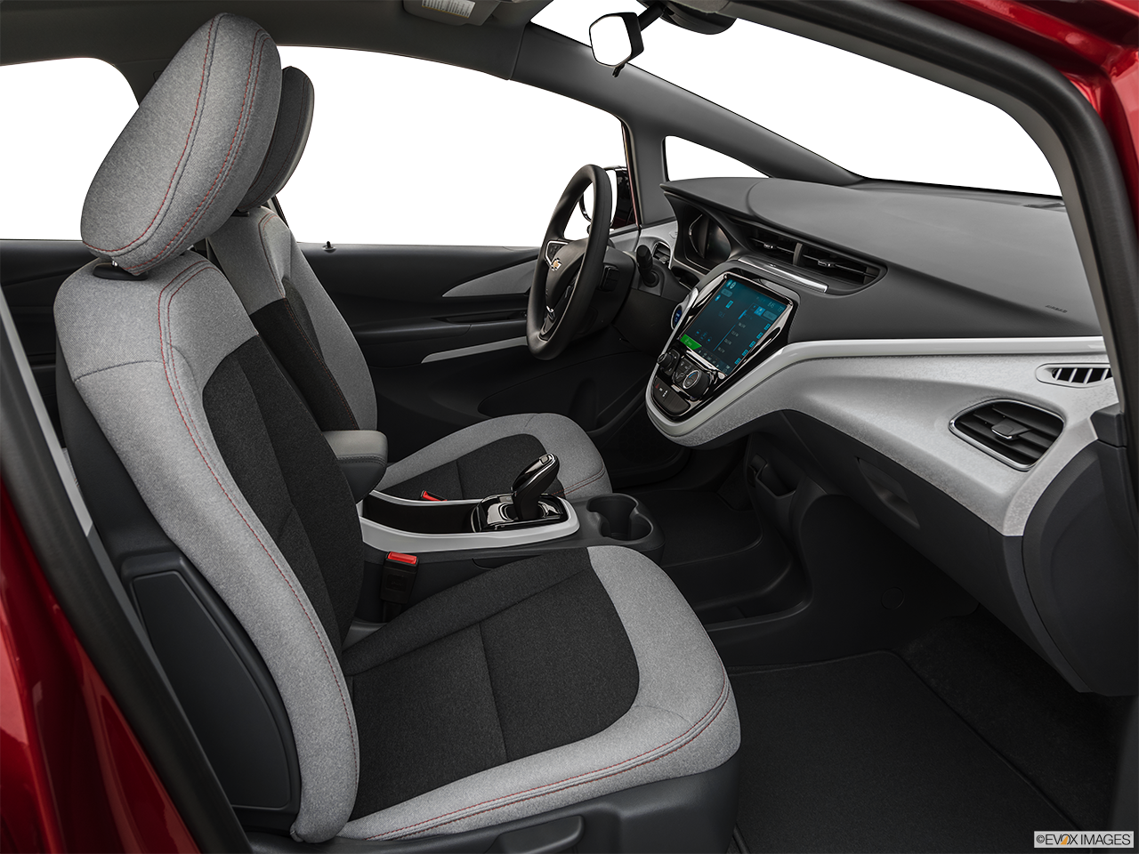 Interior view of the Chevrolet Bolt