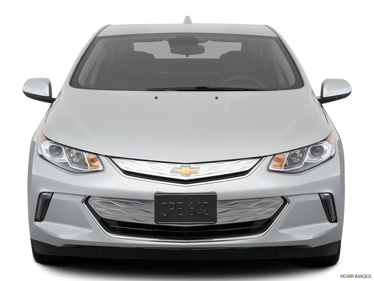 Front view of the Chevrolet Volt