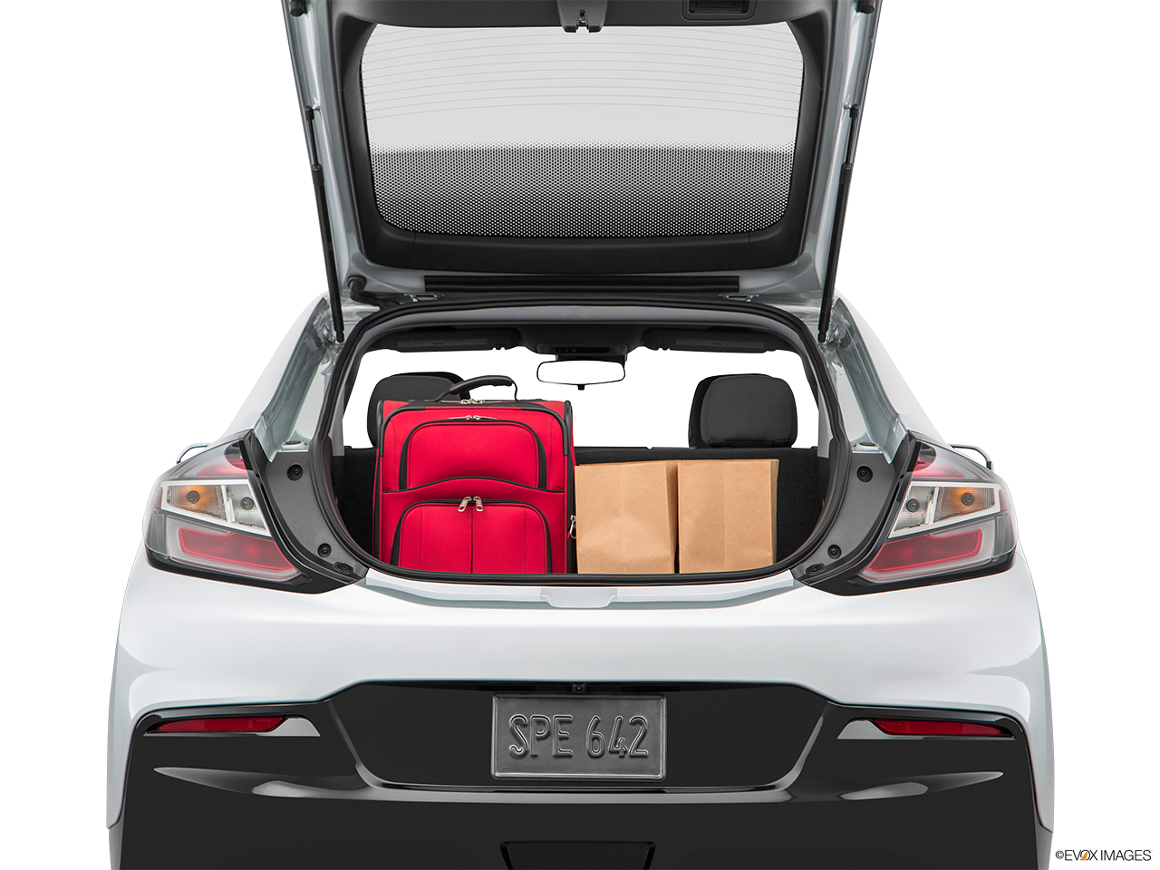 Trunk view of the Chevrolet Volt