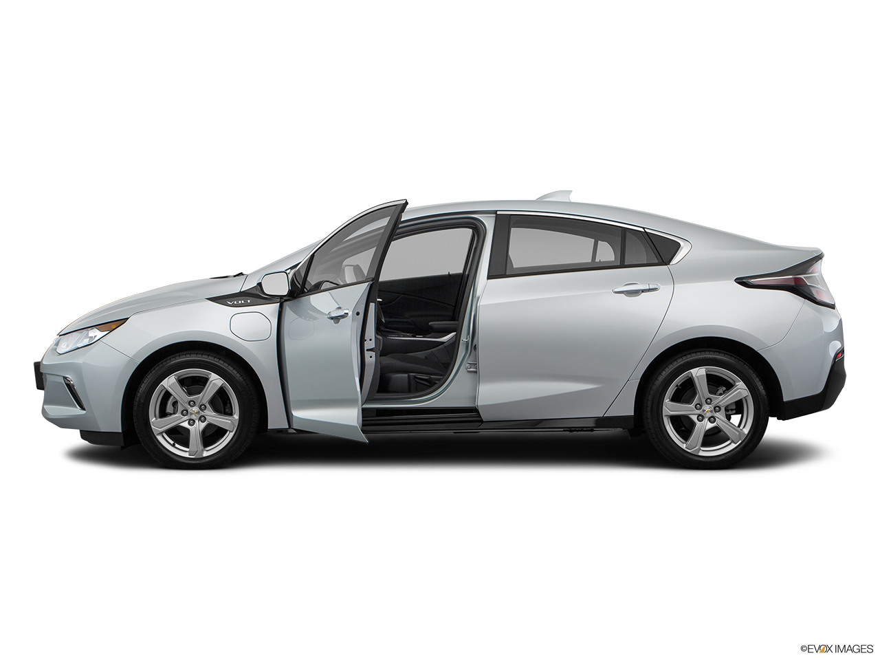 Side view of the Chevrolet Volt