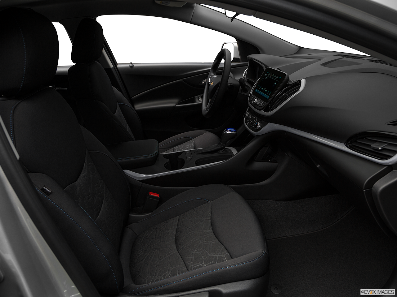 Interior view of the Chevrolet Volt