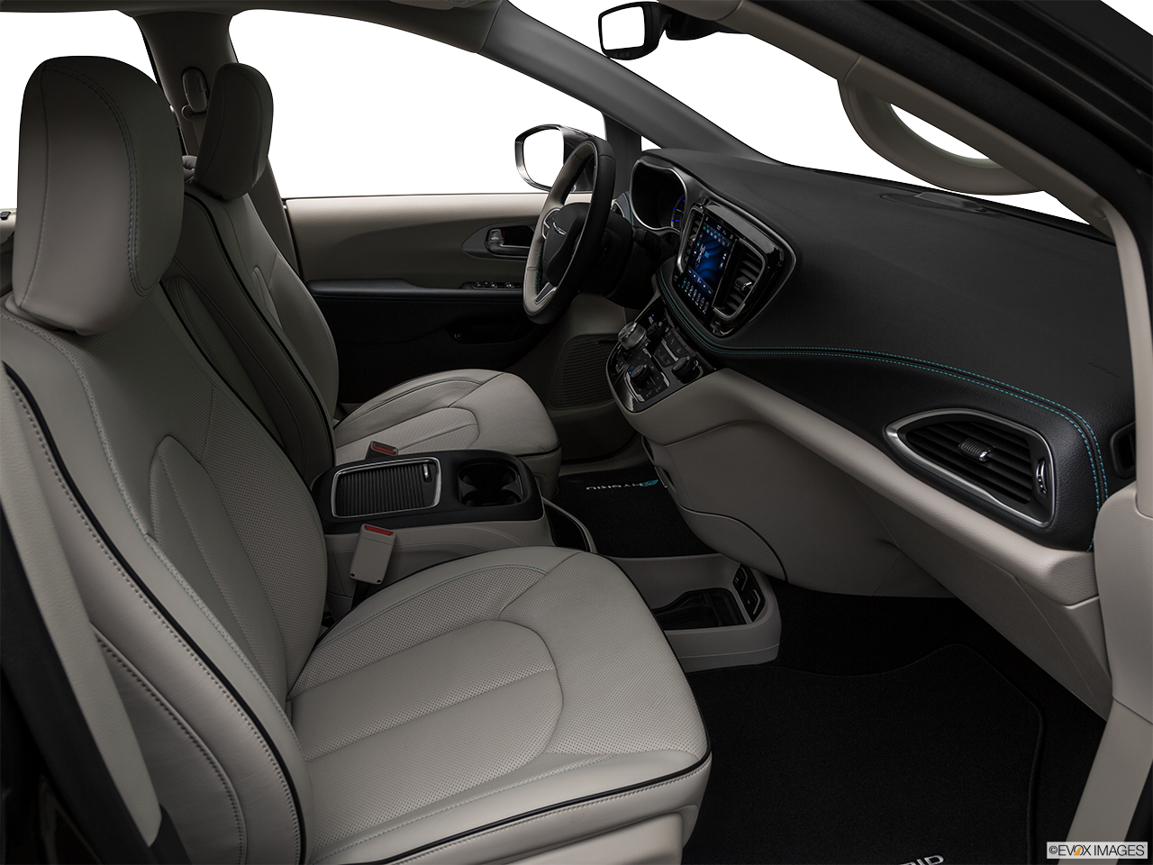 Interior view of the Chrysler Pacifica
