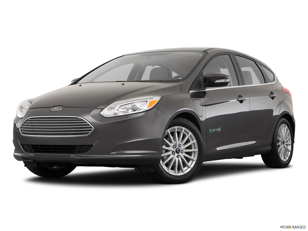 Three quart view of the Ford Focus Electric