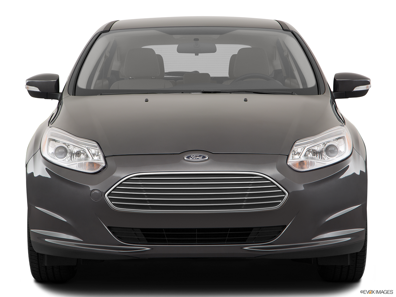 Front view of the Ford Focus Electric