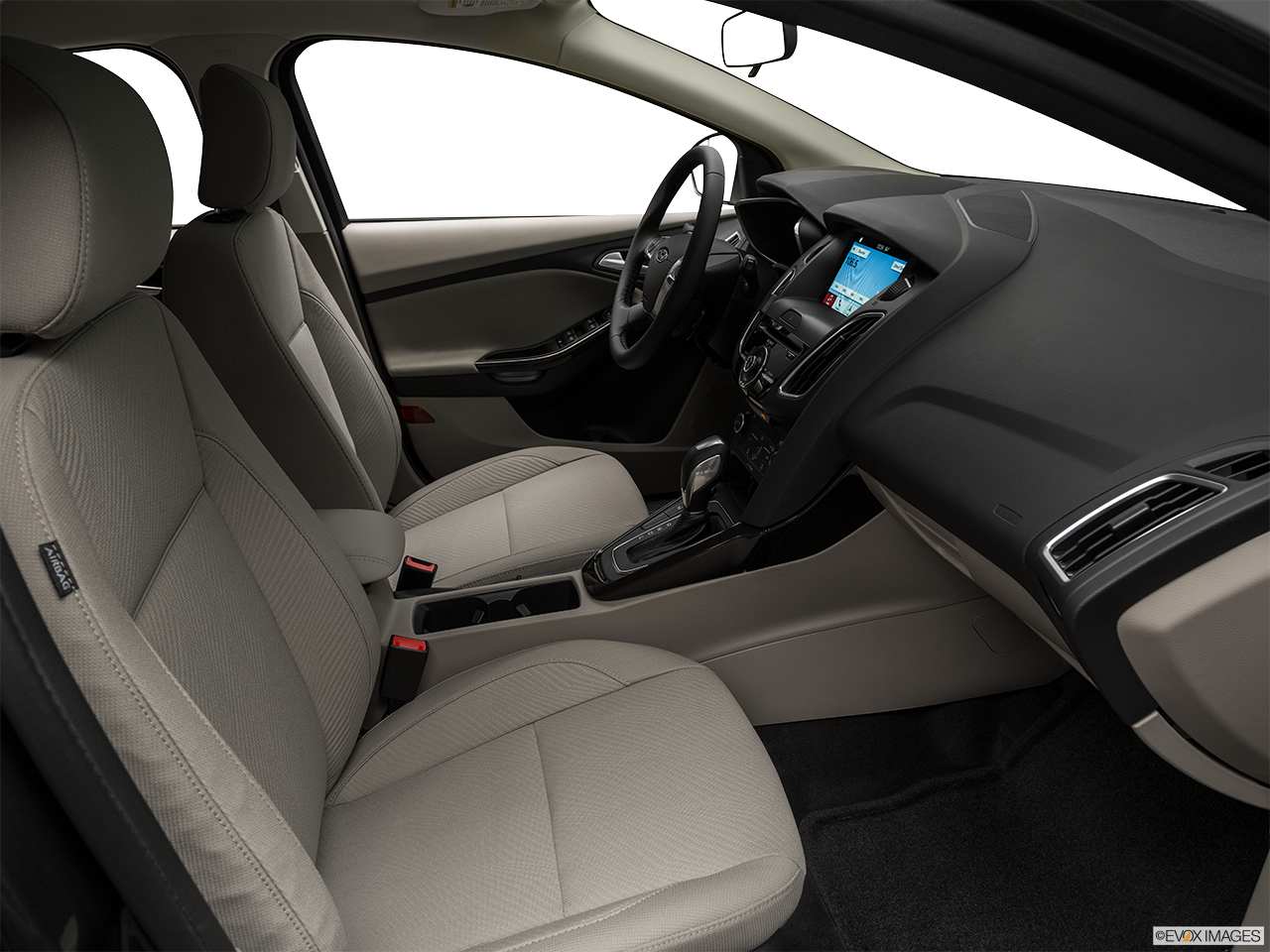 Interior view of the Ford Focus Electric