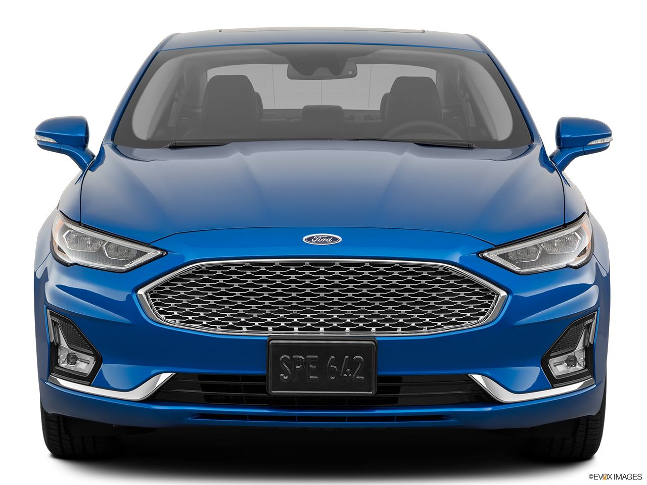 Front view of the Ford Fusion Energi