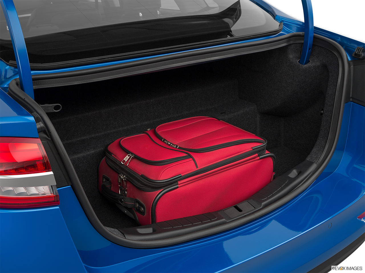 Trunk view of the Ford Fusion Energi