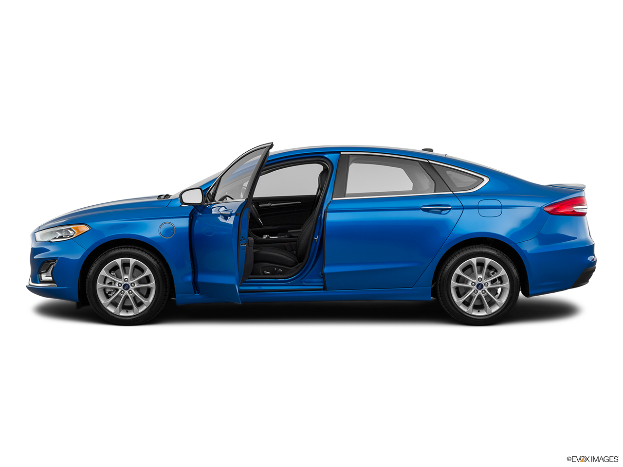 Side view of the Ford Fusion Energi