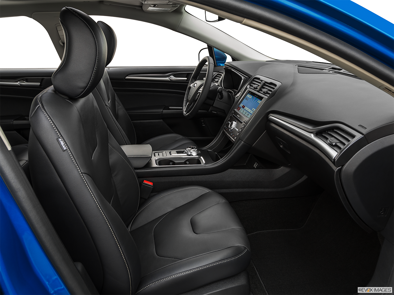 Interior view of the Ford Fusion Energi