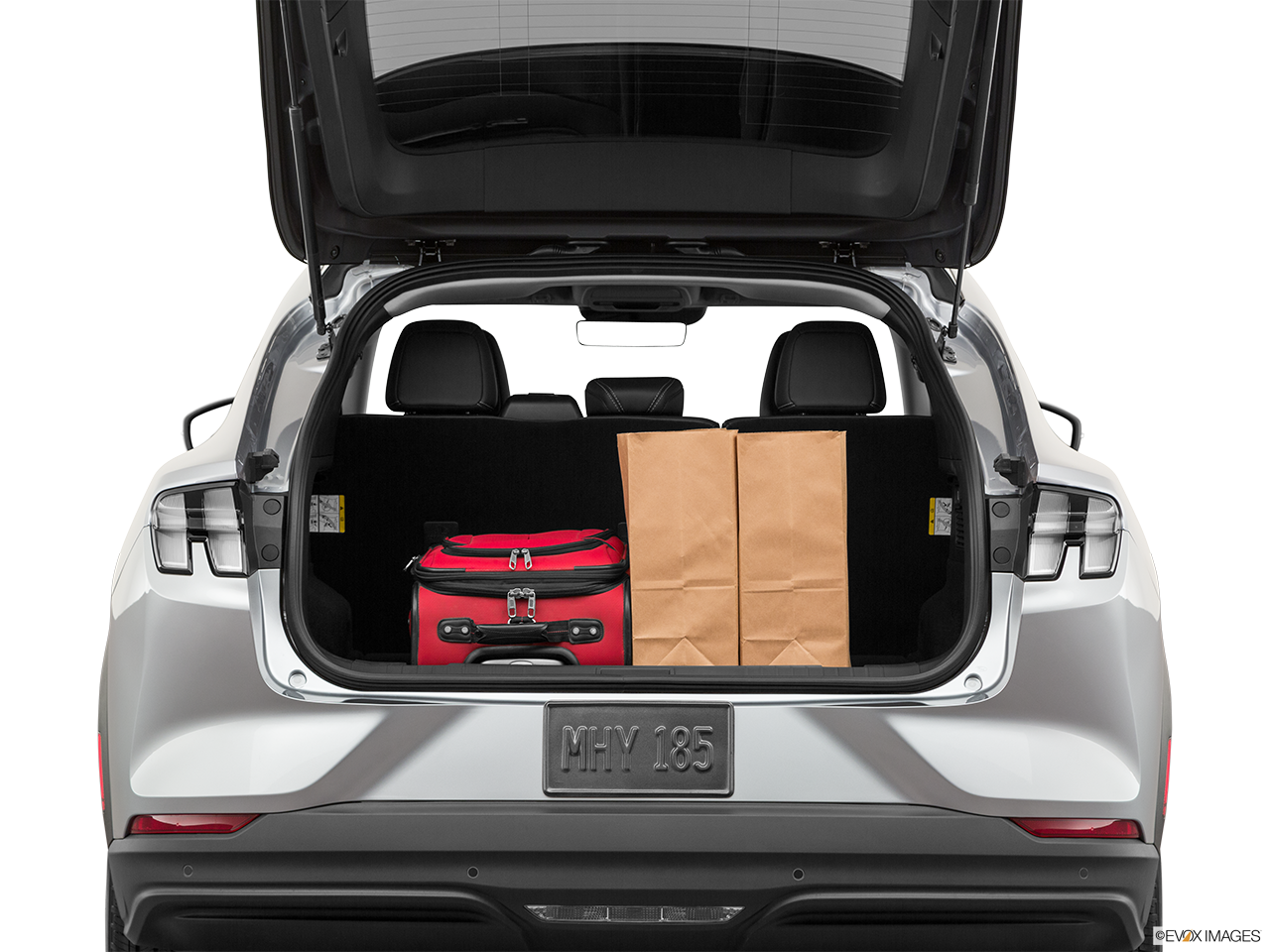 Trunk view of the Ford Mustang Mach E