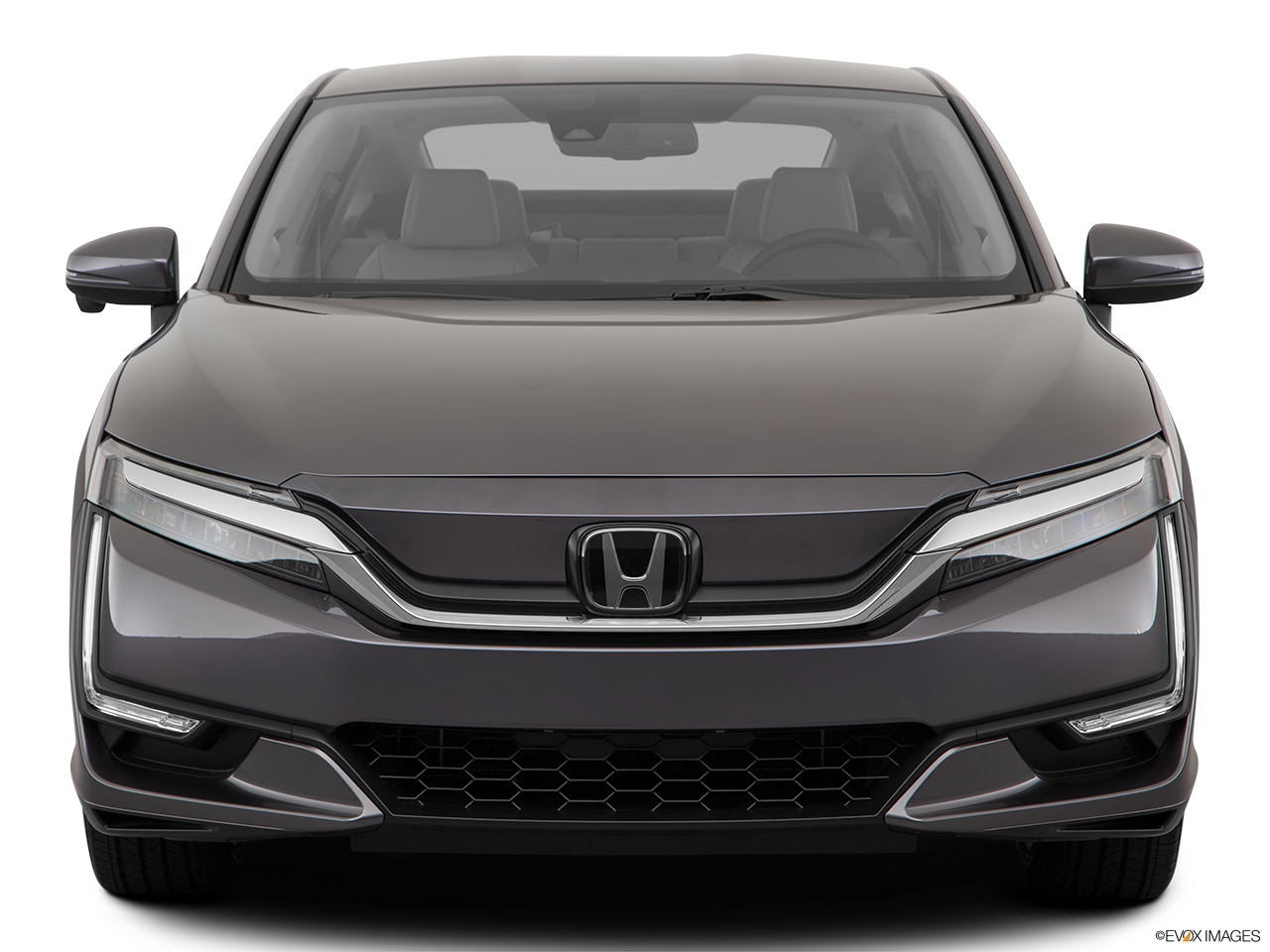 Front view of the Honda Clarity Electric