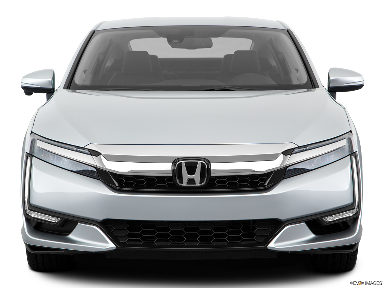 Front view of the Honda Clarity Plug-In Hybrid