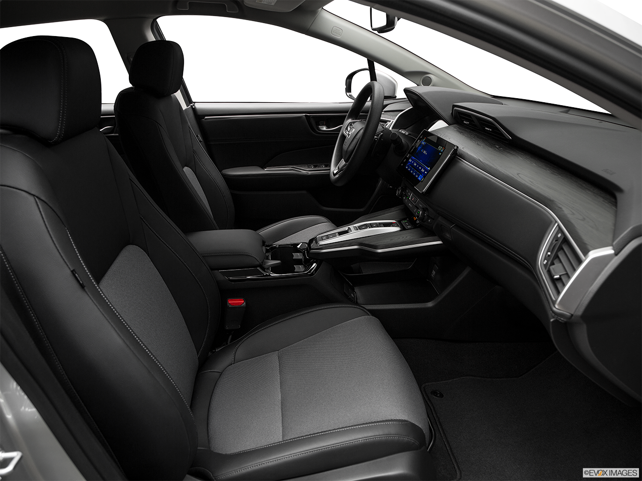 Interior view of the Honda Clarity Plug-In Hybrid