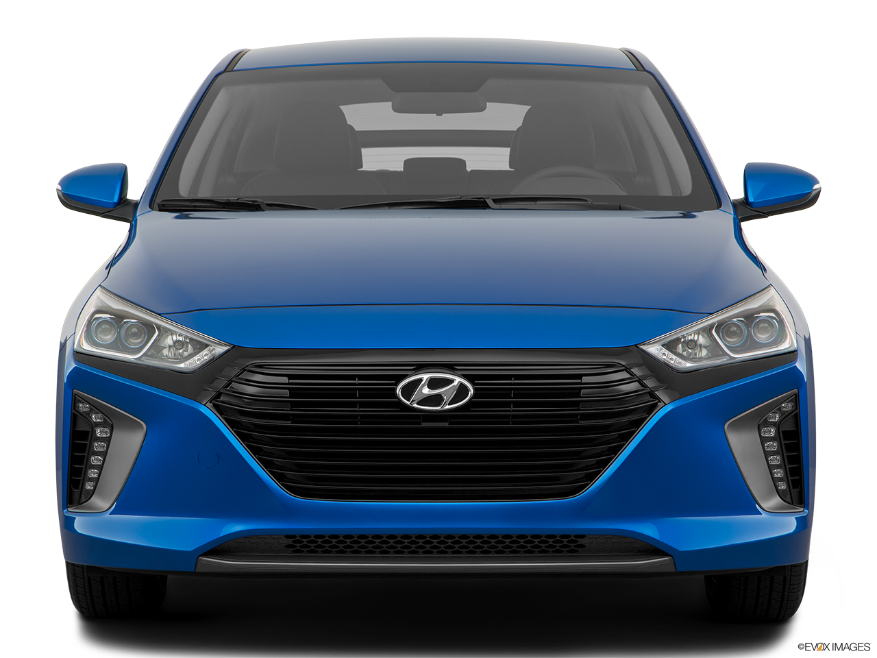 Front view of the Hyundai Ioniq Plug-In Hybrid