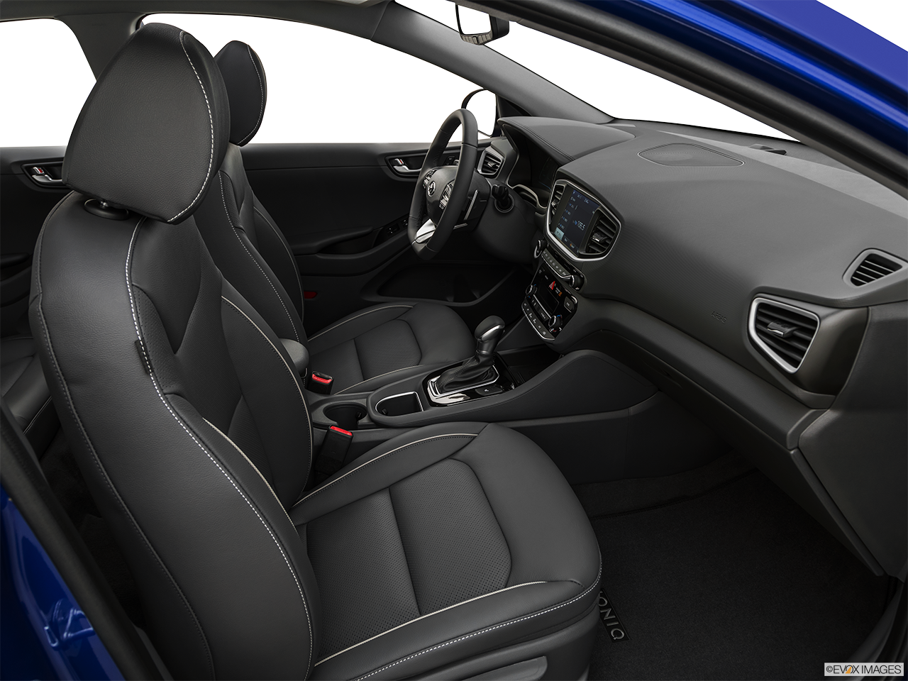 Interior view of the Hyundai Ioniq Plug-In Hybrid