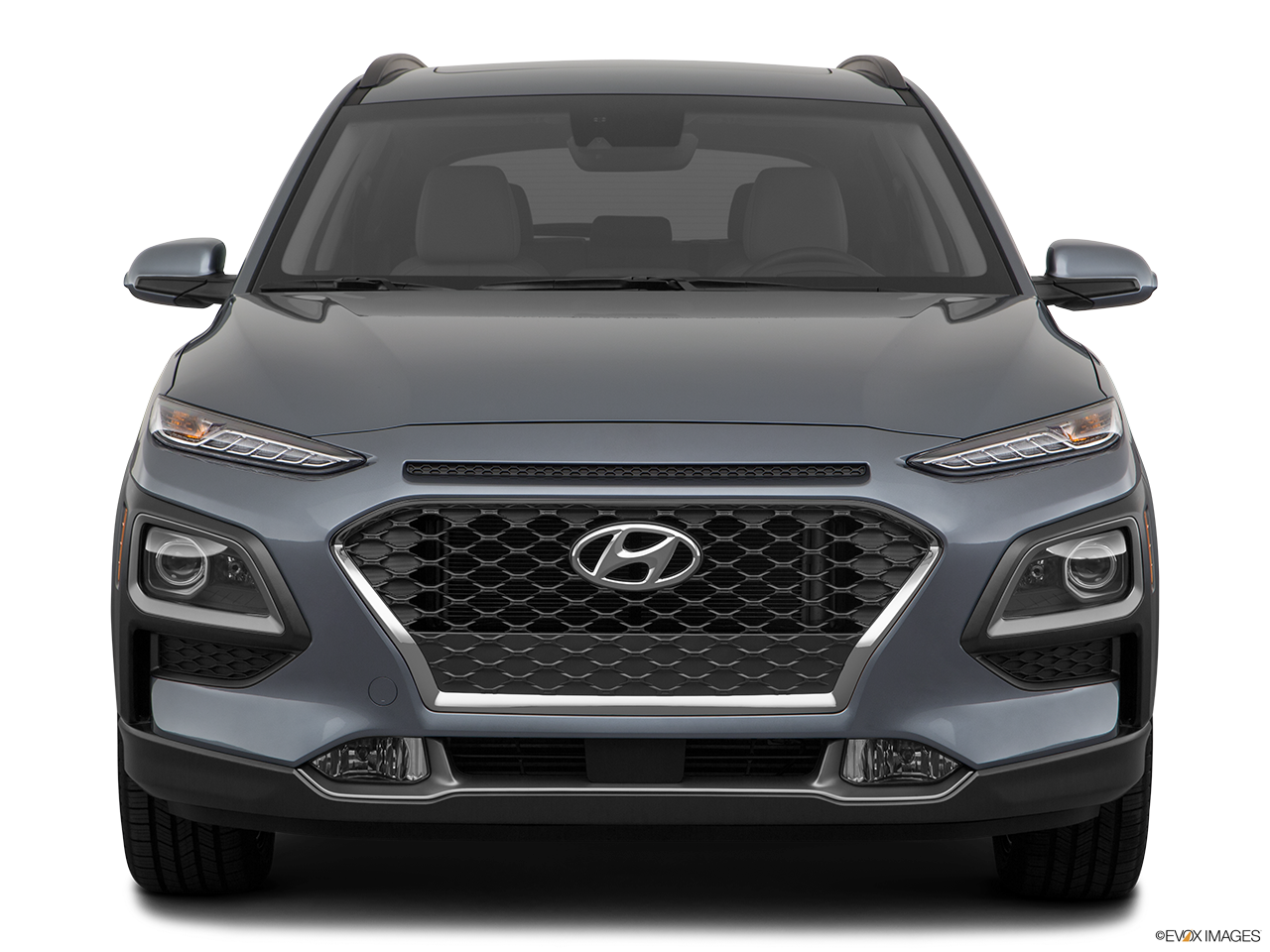 Front view of the Hyundai Kona Electric