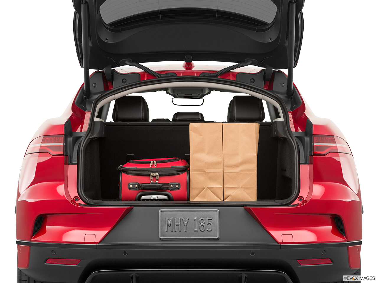 Trunk view of the Jaguar I-Pace